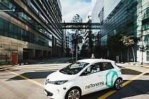 V Singapuru už jezdí samořídící taxi.