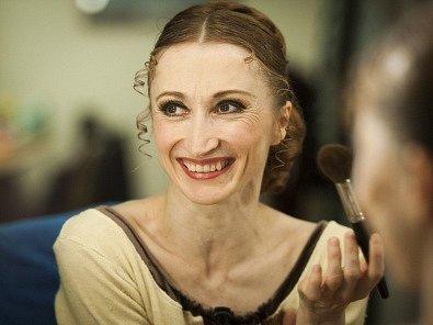 Česká primabalerína Daria Klimentová.