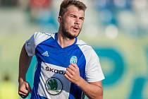 Fotbalista Nikolaj Komličenko z Mladé Boleslavi.