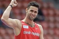Tyčkař Jan Kudlička na atletickém ME v Curychu.