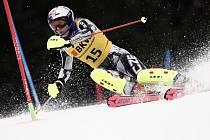 Česká lyžařka Ester Ledecká v kombinačním závodu Světového poháru ve švýcarské Crans Montaně 23. února 2020