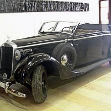 Mercedes Benz, který Heydrichovi používali během pobytu v Čechách