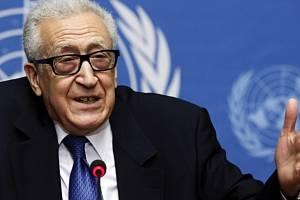 Zmocněnce OSN pro Sýrii, Lachdar Brahímí.