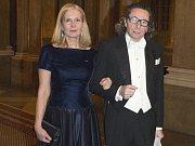 Jean-Claude Arnault se svou manželkou Katarinou Frostensonovou