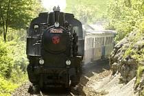 parní lokomotiva Velký býček
