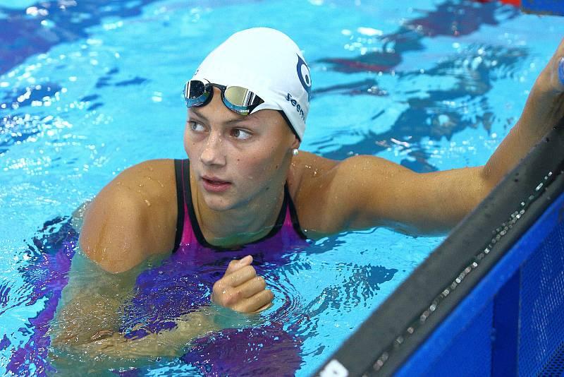 Česká plavkyně a olympionička Barbora Seemanová