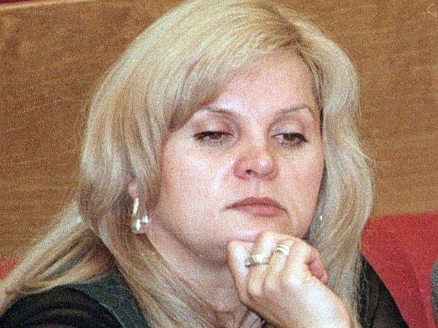 Ruská obhájkyně lidských práv Ella Pamfilovová.
