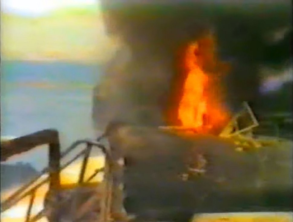 Katastrofa v Gibraltaru. Poblíž španělského přístavu explodovaly 26. května 1985 dva tankery