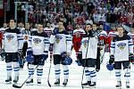 Zklamání a rozčarování. Hokejisté Finska si balí kufry, na MS vypadli ve čtvrtfinále