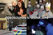 Videosouhrn Deníku - pátek 5. ledna 2018