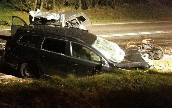 Nehoda u Pavlic.