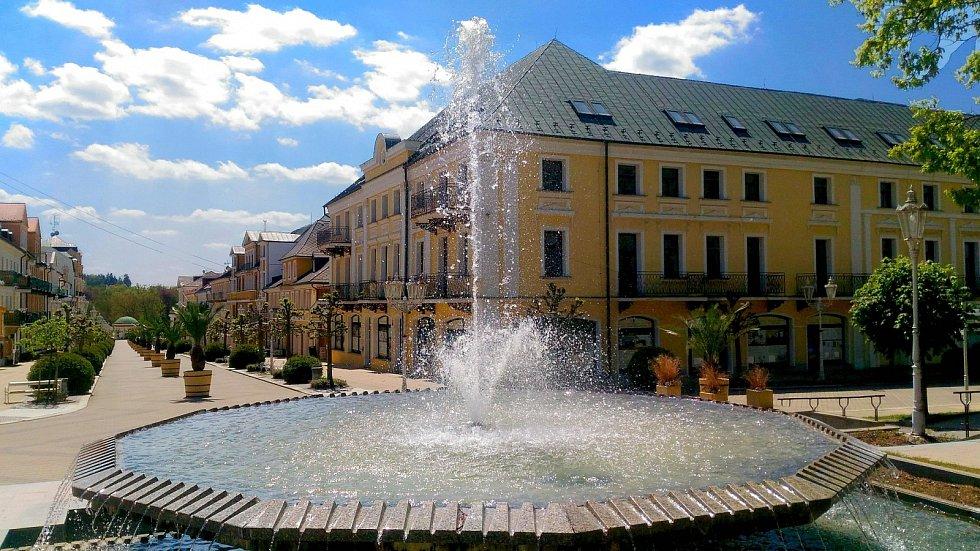 Františkovy Lázně patří k oblíbeným turistickým cílům