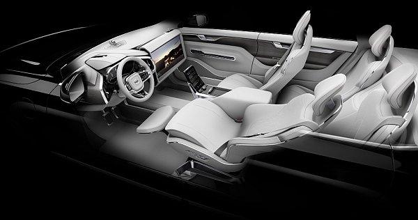 Volvo ukázalo svou představu interiéru pro autonomní řízení.