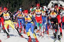 Česká štafeta biatlonistů vybojovala na mistrovství Evropy bronz.