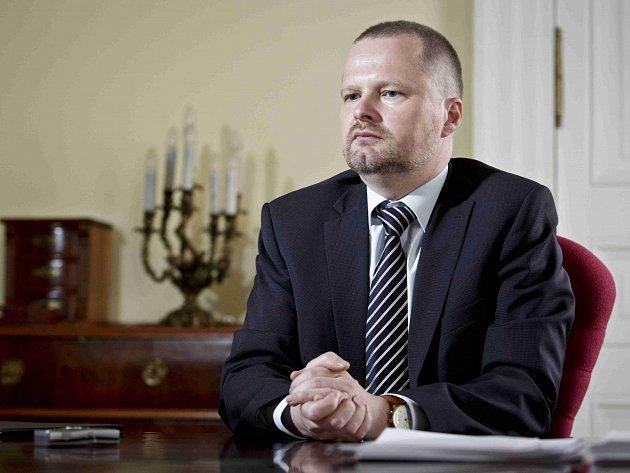 Ministr školství, mládeže a tělovýchovy Petr Fiala