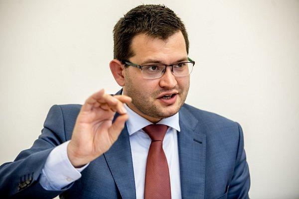 Poslanec Jan Chvojka poskytl 7.dubna vPraze rozhovor Deníku.