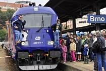 České dráhy představily na Dni železnice v Brně dva zcela nové vlaky.