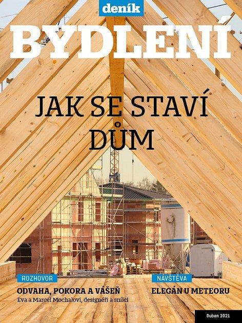 Titulní strana magazínu Bydlení.