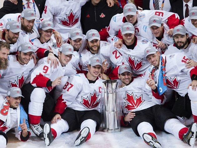 Hokejisté Kanady potvrdili roli favorita a vyhrály Světový pohár v Torontu.