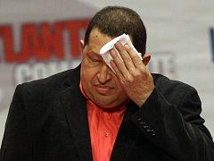 Venezuelský prezident Hugo Chavez