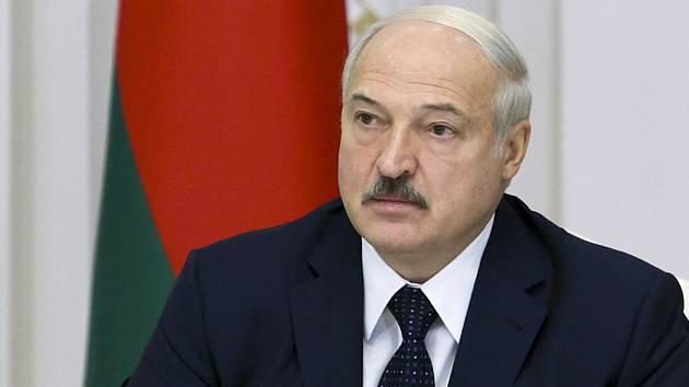 Běloruský prezident Alexandr Lukašenko na snímku z 27. srpna 2020