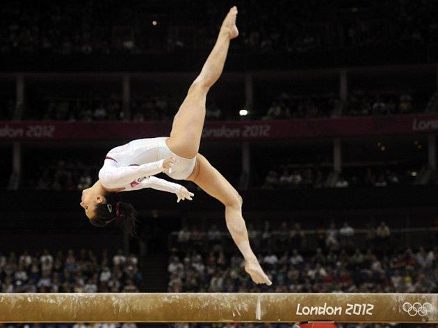 Kristýna Pálešová na olympijských hrách v Londýně.