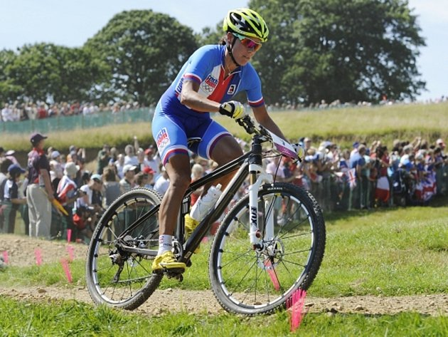 Bikerka Kateřina Nash skončila na olympijských hrách v Londýně na 14. místě.