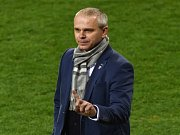 Trenér fotbalové jednadvacítky Vítězslav Lavička.