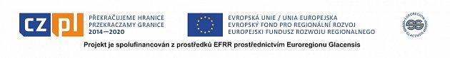 Projekt je spolufinancován zprostředků EFRR prostřednictvím Euroregionu Glacensis.