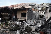 Raketa vypálená pravděpodobně z Pásma Gazy zasáhla dům u Tel Avivu.
