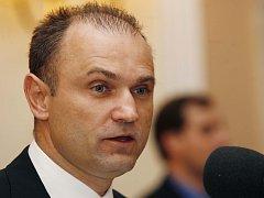Ministr vnitra Ivan Langer (ODS)