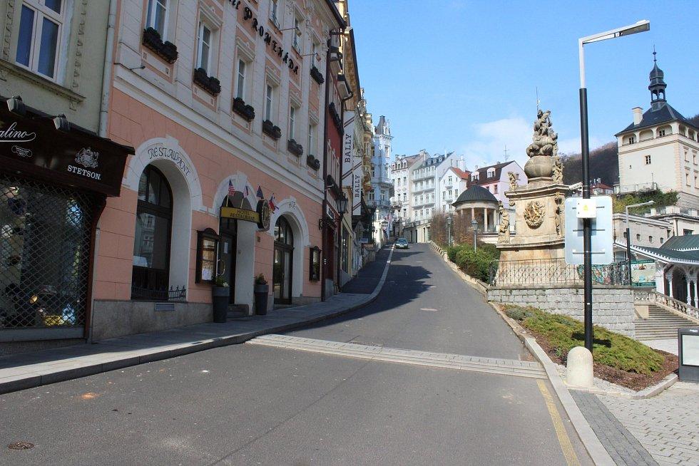 Lázeňské město tak nabízí netradiční pohledy…