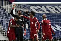 Fotbalisté Liverpoolu.