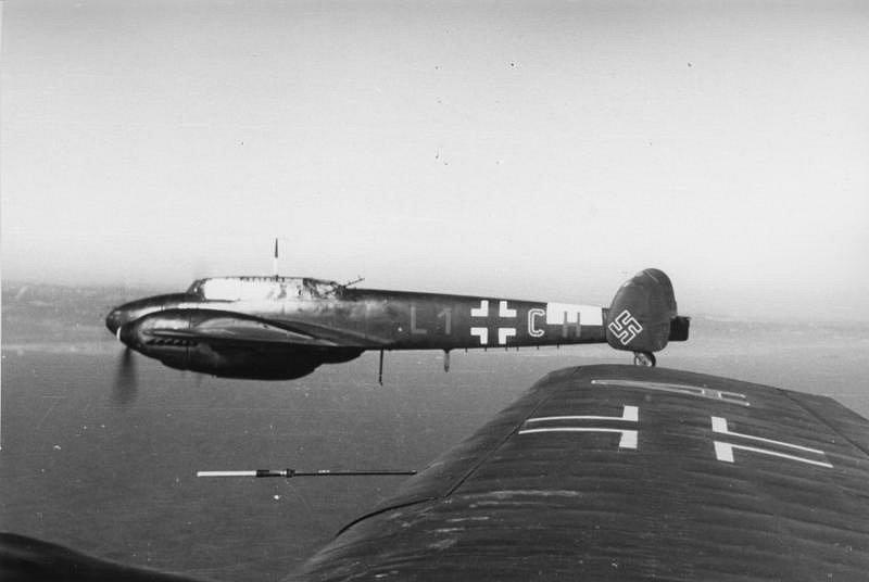 Messerschmitty Me 110