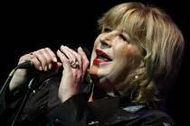 Britská zpěvačka a skladatelka Marianne Faithfullová.