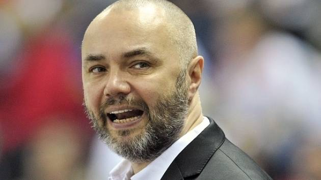 Hokejový trenér Jiří Kalous.