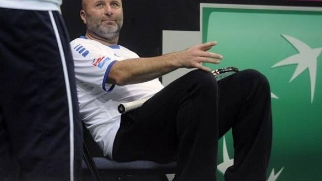 Trenér pohodář David Kotyza.