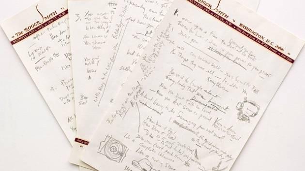 Rukopis jedné z nejslavnějších písní v dějinách rockové hudby - Like a Rolling Stone od Boba Dylana - míří do dražby.