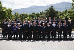 Šéfové států a vlád zemí Evropské unie a západního Balkánu na summitu v Sofii