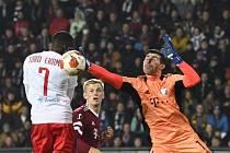 Fotbalisté Sparty prohráli v Evropské lize doma s Lyonem 3:4.