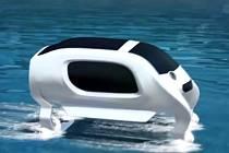 Plavidlo nazvané Sea Bubble (Mořská bublina) je opatřené dvojicí ližin a malými turbínami, které umožňují, aby se vlastní kabina vznášela těsně nad hladinou.