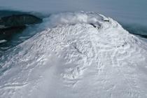 Vulkán Mount Michael na Saundersově ostrově