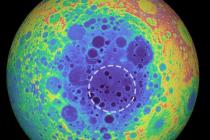 Pánev South Pole-Aitken nacházející se na Měsíci