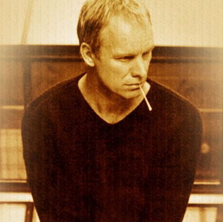 """Vlastním jménem se jmenuje Gordon Sumner, ale jak sám snadsázkou řekl vdokumentu Bring on the Night už vpolovině 80.let: """"Moje děti mi říkají Sting, moje matka mi říká Sting… Kdo je vlastně Gordon?"""""""
