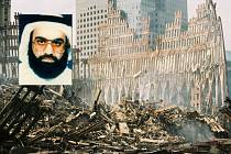 Chálid Šajch Muhammad na snímku, který při pátrání po něm zveřejnila FBI.