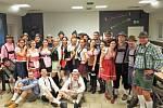 Ukončení podzimní sezony TJ Sokol Kobeřice ve stylu bavorského Oktoberfestu.