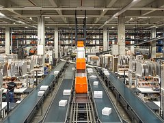 Logistické centrum společnosti Zalando v Erfurtu