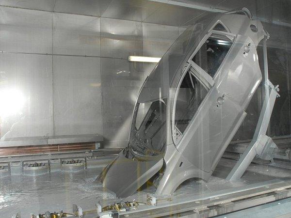 Výroba auta vŽilině.