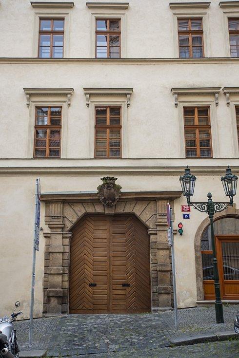 Ubytovna poslanců v Nerudově ulici v Praze