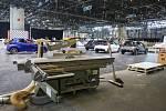 Ukončení přípravy na autosalon v Ženevě